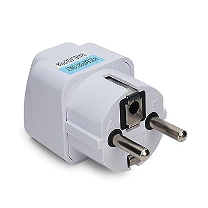 Generic Universal AU US UK to EU Europe Plug AC 250V Power Travel Adapter
