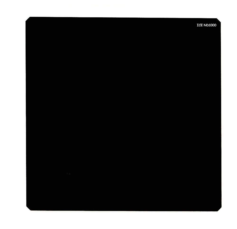 ICE 150mm ND1000 Filter Neutral Density 10 Stop Optical Glass Lee SW150 Compatible 150 ND Includes Plastic Hard Shell Case by Unknown