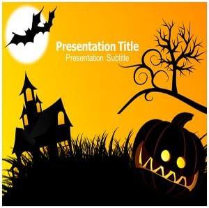 amazon com halloween powerpoint template halloween powerpoint
