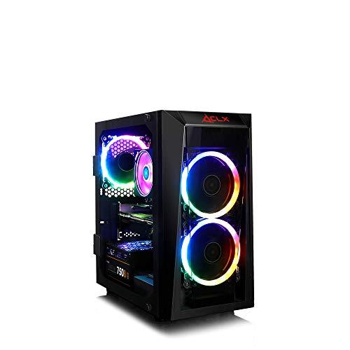 CLX Set Performance Gaming PC, Wraith Prism Cooled AMD Ryzen 7 3800X 3.9GHz 8-Core, B450 MATX, GeForce RTX 2080 Ti 11GB…