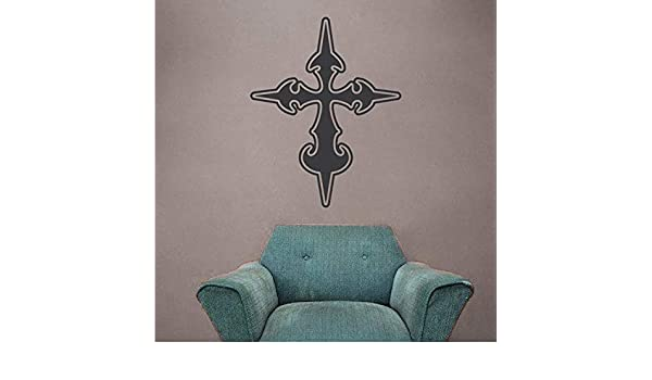 WSLIUXU Moda Cruz Pegatinas de pared Jesús Iglesia Decoración ...