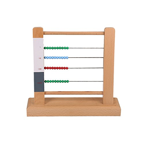 Top 10 Recommendation Montessori Large Bead Frame For 2018 Angstucom