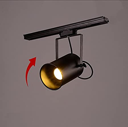 Proyector LED de viento industrial Retro Long Rod Guide Light ...