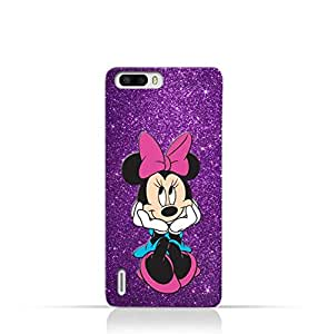 Huawei Honor 6 Plus TPU Silicone Case with Minnie Mouse Lovely Smile Design
