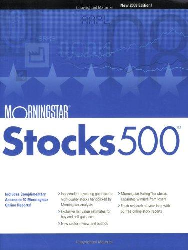 Morningstar Stocks 500: 2008