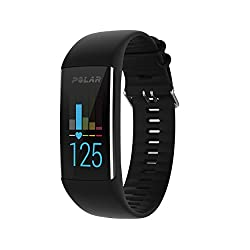 Polar A370 Fitness Watch With 247 Wrist Based Heart Rate, Black