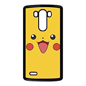 LG G3 Cell Phone Case Black Pikachu KQL Cell Phones Cases And Covers