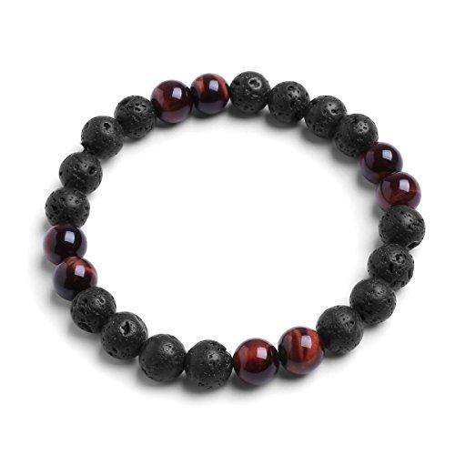 8mm-natural-lava-rock-red-tigers-eye-semi-precious-stone-elastic-beaded-bracelet-for-65-8-inch-wrist