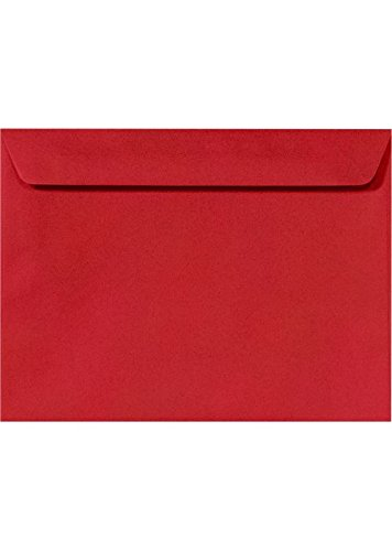 9 x 12 Open-End Envelopes in 28 lb. Gray Kraft/Peel and Seel for Mailing a Business Letter, Catalog, Financial Document, Magazine, Pamphlet, 50 Pack (Gray)