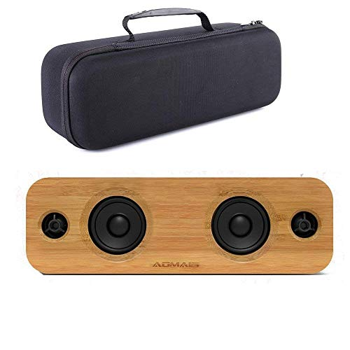 Esimen Hard Case for AOMAIS Life 30W Bluetooth Speakers Cover Carry Bag Protective Box (Black)