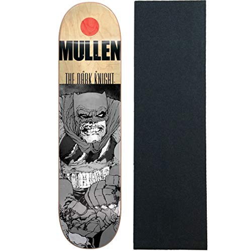 "Almost Skateboard Deck FM Grey Knight Batman Mullen 7.75"" wi"