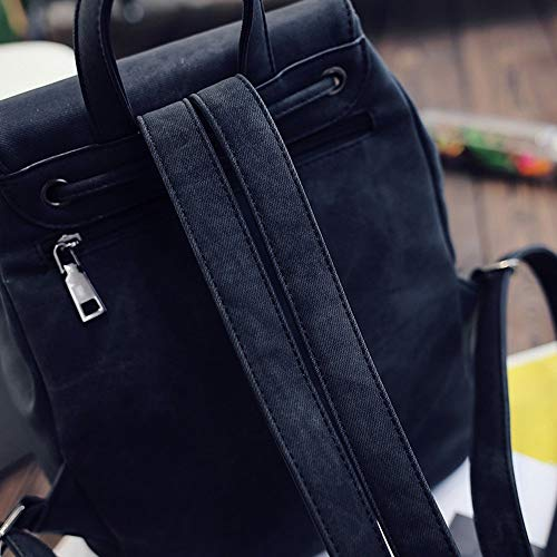Logobeing Niña Bolsas Pequeño Tipo Negro Mochila Bolso Bolsos Bandolera Mochilas De Mujer Casual Viaje Bolsa HrqHOwpC