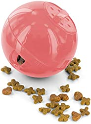 PetSafe SlimCat Interactive Toy and Food Dispenser, Pink
