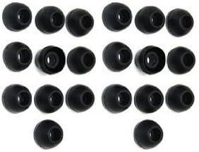 Gadgetbrat - Set de 20 recambios de carcasa de silicona para auriculares Sony, JVC, Phillips, Panasonic y otros