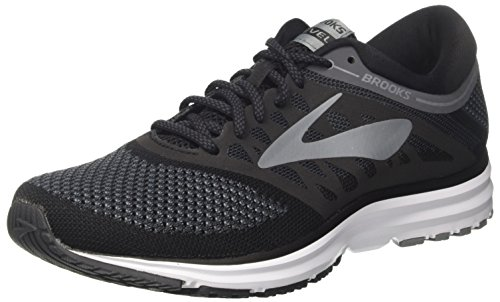 Brooks Revel, Zapatillas de Running Para Mujer Negro (Blackanthraciteprimergrey 1b002)