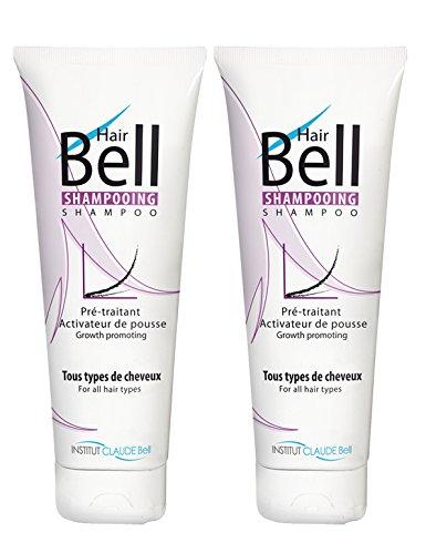 B2C Hair Bell - Champú activador del crecimiento, 2 unidades