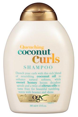 OGX Shampoo, Twisted Coconut, 13 fl