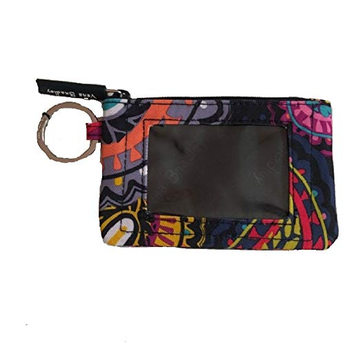 Vera Bradley Women's Zip ID Case Twilight Paisley