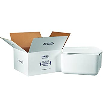 6e76a5516a9e Amazon.com: Partners Brand P250C Insulated Shipping Kits, 17