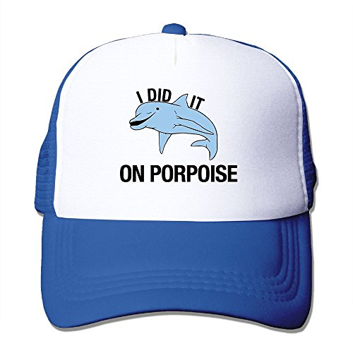 Porpoise Earring (Jidfnjg I Did It On Porpoise Nethat Boy and Girl Baseball Truck Driver's Cap.)