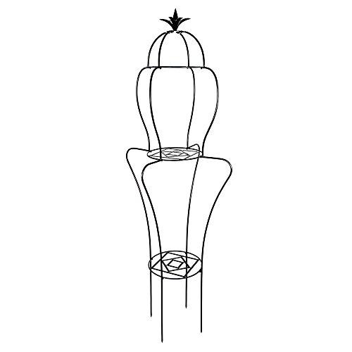 Achla Designs Ascending 3-Tier Topiary Frame Garden Trellis - Trellis Topiary