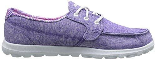 Skechers On-The-Go - Mist - Zapatillas de deporte Mujer Púrpura (Purple Heather)
