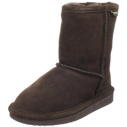BEARPAW Emma 6.5 Inch Shearling Boot (Little Kid/Big Kid),Chocolate,11 M US Little Kid