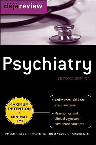 Kết quả hình ảnh cho Deja Review - Psychiatry