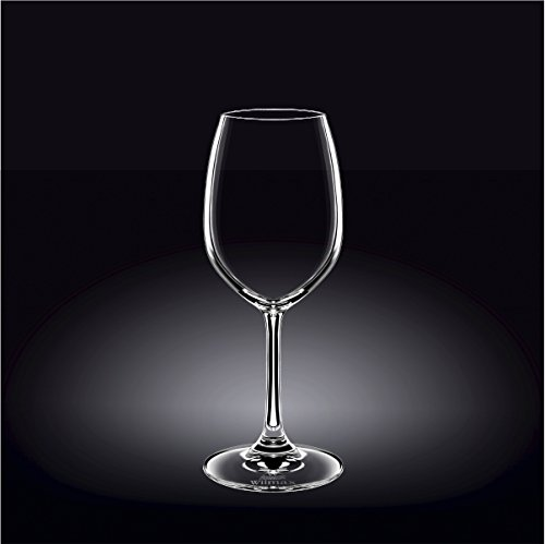 Wilmax 888012 350 ml Wine Glass Set of 644; Pack of 4 by Wilmax