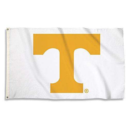- NCAA Tennessee Volunteers Flag with Grommets, 3' x 5', Orange