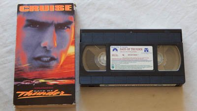 Days Of Thunder VHS Movie - Paramount Pictures 1990 - A USED Play-Screened VHS Movie Graded 8.5 - Tom Cruise and...