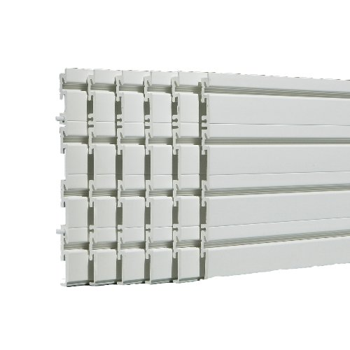 Flow Wall FWS-4812-6W-B Wall Panel Pack, White covers 24 sq ft by Flow Wall (Image #4)