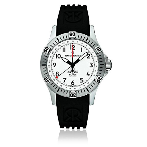 Revue Thommen Men's 16070-2832 Airspeed XLarge Pioneer Analog Display Swiss Automatic Black Watch