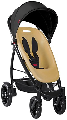 phil&teds Smart Buggy V2 Complete - Almond Seat + Licorice