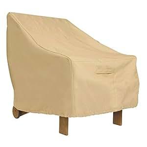 Para silla de jardín–resistente y resistente al agua al aire libre silla cubierta