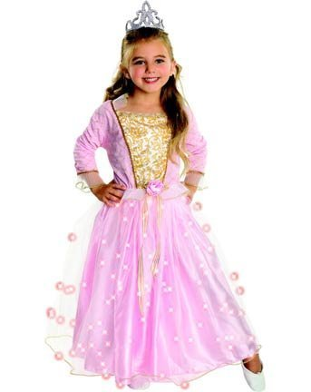 Rose Princess Costume: Toddler's Size 2-4