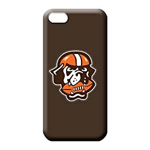 MMZ DIY PHONE CASEiphone 5/5s phone carrying case cover Shockproof First-class skin cleveland browns 7
