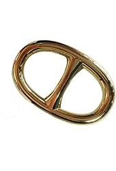 Maikun Scarf Ring Modern Simple Design Oval Scarf Ring