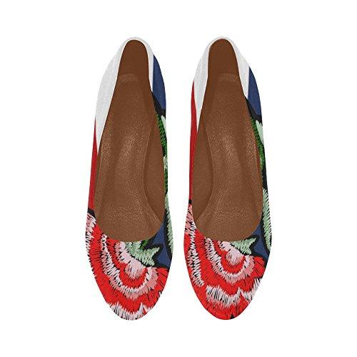 D-story Flamingo Mujeres Sexy Stiletto Bombas De Tacón Alto Zapatos Multicolor19