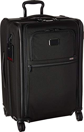- TUMI - Alpha 3 Short Trip Expandable 4 Wheeled Packing Case Suitcase - Rolling Luggage for Men and Women - Black