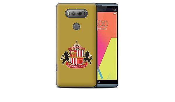 Oficial Sunderland AFC Carcasa/Funda/Case dura para el LG V20 F800 ...