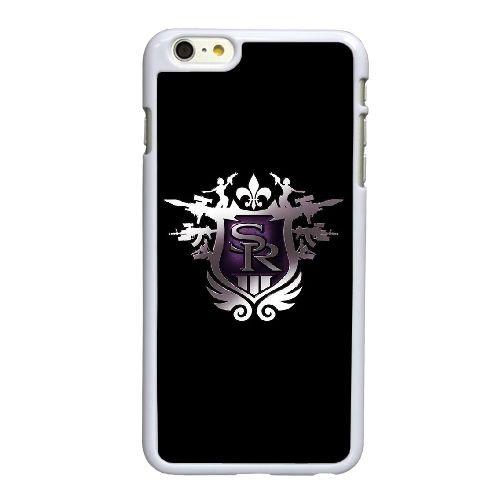 Saints T9V15 rament le troisième jeu de l'emblème V6L0JU coque iPhone 6 4.7 pouces cas de couverture de téléphone portable coque blanche KO7YFF7AM