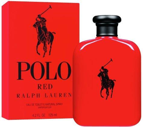 Ralph Lauren Polo Red Eau De Toilette Spray 125 ml. / 4.2 oz.
