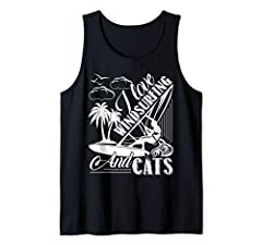 Windsurfing Sleeveless - Love Windsurfing - Cool Tank Top With Nice Design For You Or Gift For Friend And Family!