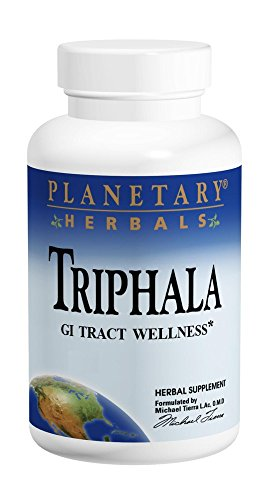 Triphala Internal Cleanser - Planetary Herbals Triphala 1000mg - 270 Tablets