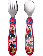The First Years Mickey Mouse Easy Grasp Flatware