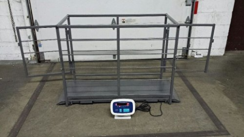 VS-2000 hog sheep goat scale with cage by A and A Scales
