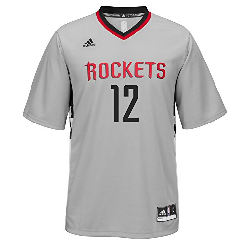 NBA Houston Rockets Dwight Howard #12 Men's Replica Jersey, Medium, Gray
