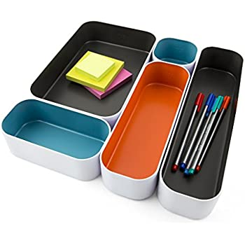 Three By Three Seattle Drawer Organizer Pack of 5, 2