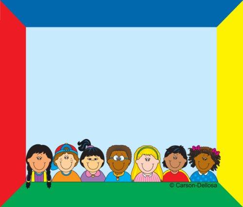 Carson Dellosa Multicultural Kids Name Tags (9415)